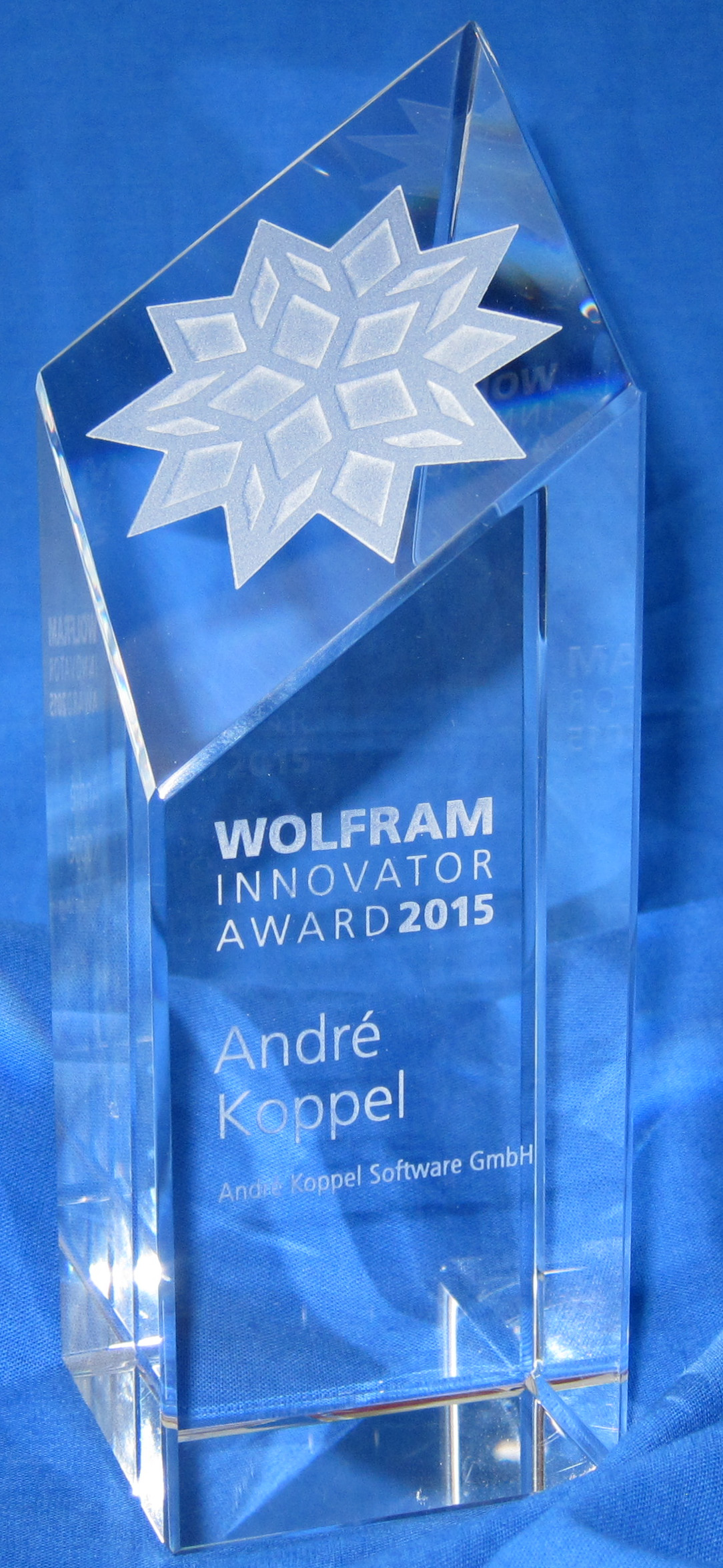 Wolfram Innovationspreis 2015